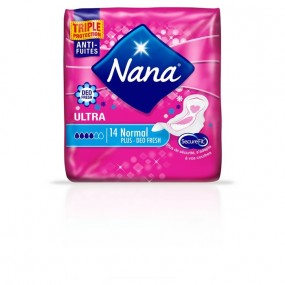 Serviettes hygiéniques NANA Normal Plus Deo Fresh
