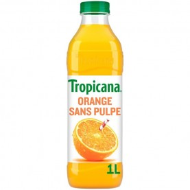 Jus d'orange avec ou sans pulpe Tropicana
