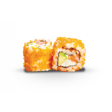 Maki California Saumon Tobiko