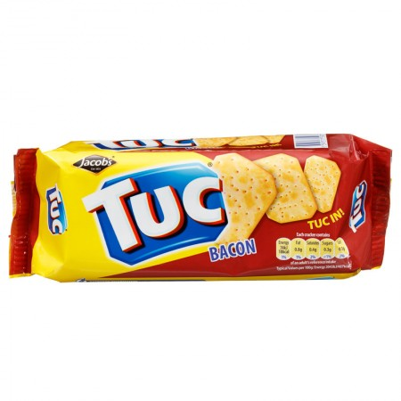Crackers bacon Tuc 4x100 gr