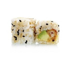 Maki California Crevette Tempura et Curry