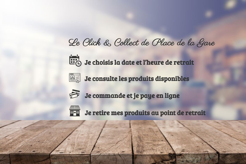 Le Click & Collect de Place de la Gare